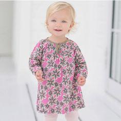 ea062059565a Girls long sleeve spring cotton dress Baby Girl Jumpsuit, Baby Girl Dresses,  Baby Dress