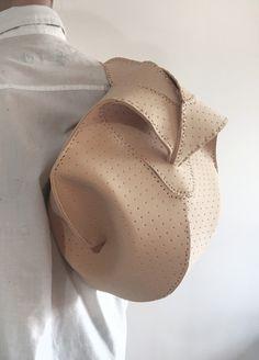 Bag. Leather. Seam. Architecture. Design. Ideas. Object 4