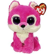 06ac0ee0fde Pyoopeo Ty Beanie Boos Sierra the Red Wolf Plush Regular Soft Big-eyed  Stuffed Animal Collection Doll Toy with Heart Tag(China)