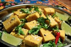 BUST Magazine: South Indian Dhokla - by The Lotus and the Artichoke
