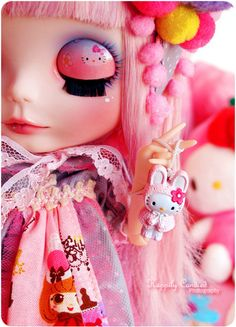 Large Hello Kitty Doll | doll, fashion, hello kitty, japan, lolita, makeup - inspiring picture ...