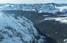 Hollyford Valley, Fiordland, Nový Zéland