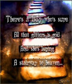 Stairway to Heaven -- Led Zeppelin #Lyrics