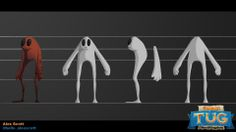Podlings Concept V.2, Artist: Alex Scott