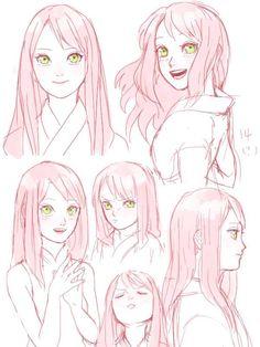 Sakura Uchiha (Haruno) / Сакура У. Anime Naruto, Naruto Fan Art, Naruto Cute, Naruto And Sasuke, Naruto Shippuden, Boruto, Naruhina, Sasuke Sakura, Naruto Sketch