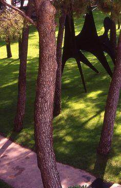 sculture by calder in fundacion maehgt (arch. j.l.sert) - france - by @gostinho