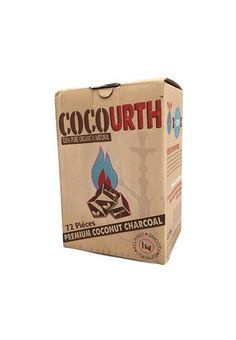 CocoUrth Coconut 72 Pack, Hookah Charcoal - CocoUrth, Oxide Hookah