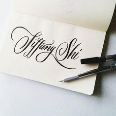 As per request of @slffany. #calligrafikas