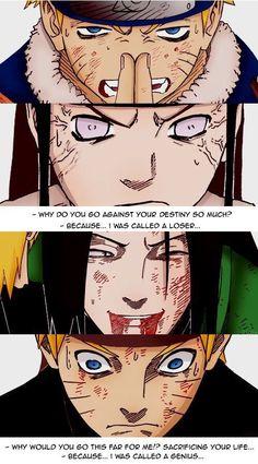 Naruto and Neji