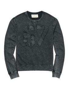 Denim & Supply - Sweatshirt mit Applikationen