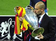 Pep Guardiola ranks second in our table of managers - he won with Barcelona back in 2011
