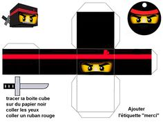 "THEME ""MAITRE NINJA"" tout noir - 1 et 2 et 3 DOUDOUS * PATRONS* PATTERNS * GABARITS FETE A THEMES POUR ENFANTS Lego Ninjago, Ninjago Party, Lego Birthday Party, Star Wars Birthday, Lego Duplo, Baby Birthday, Birthday Cakes, Turkey Disguise, Lego Club"