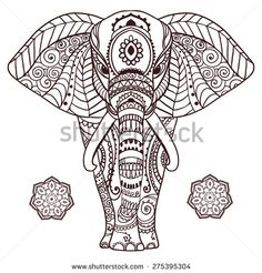 Stock Images similar to ID 61144159 - traditional indian henna ...