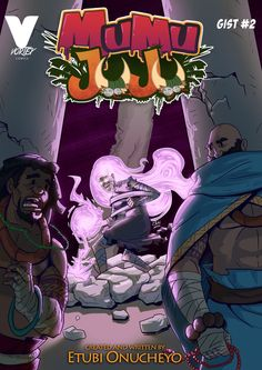 Mumu Juju (2015) // Vortex ComicsMumu Juju is an African fantasy story about two friends The Mortar & The Pestle and their wild adventures, as they go through various obstacles to pay back a debt owed...