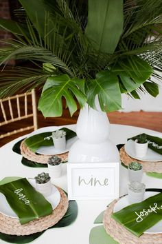 How To Have A Modern Tropical Boho Chic Wedding Day modern tropical wedding table - Boho Wedding Tropical Home Decor, Modern Tropical, Tropical Party, Tropical Interior, Tropical Colors, Tropical Furniture, Modern Boho, Wedding Table Themes, Wedding Decorations