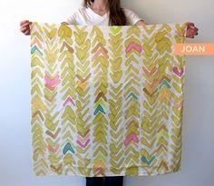handpainted silk scarves by littlethingsstudios.com