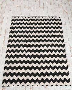 Chevron rug