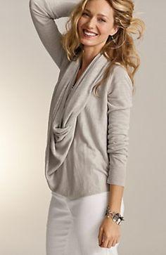 linen pullover. jjill.