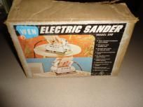 Vintage Wen Electric Sander Boxed, Complete and Working