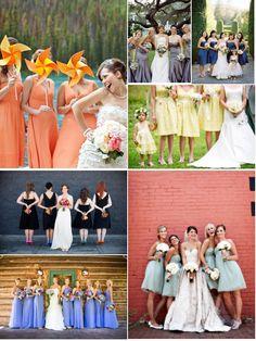 demoiselles d'honneur #fleurs #mariage