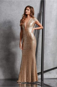 f4808ffec86 Gold Maxi Dress for Bridesmaids or Wedding Guests