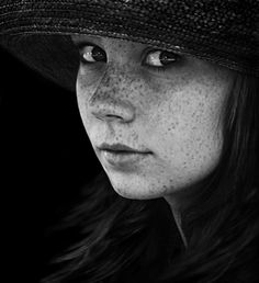 The only thing that makes life possible is permanent, intolerable uncertainty; not knowing what comes next. Ursula K. LeGuin by Marzena Wieczorek Celine, Human Emotions, Pictures Of People, Photoshoot Inspiration, Coming Home, Ursula, Freckles, Photo Galleries, Poses