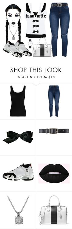 """Issa Wife Contest"" by texasradiance ❤ liked on Polyvore featuring Twenty, Chanel, Belstaff, NIKE, David Yurman, MICHAEL Michael Kors and Michael Kors"