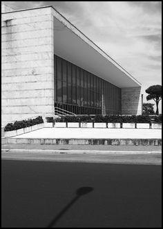 Palazzo dei Congressi by A. Libera