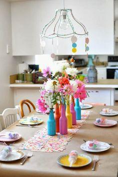 linda decoración de fiesta
