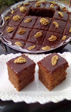 Greek Sweets, Greek Desserts, Greek Recipes, Food For Thought, Chocolate Cake, Caramel, Cheesecake, Food And Drink, Dessert Recipes