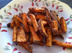 Cajun Sweet Potato Fries Recipe  OMG so good!  http://potatostrong.com/cajun-sweet-potato-fries/