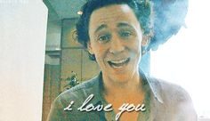 Guys if you're having a bad day, Tom Hiddleston loves you. You're welcome.