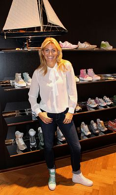 Federica Fontana & Voile Blanche during our Press Day!