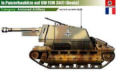 10.5cm leFH16 auf GW FCM 36(f)