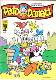 Portugal - Pato Donald (Portuguese) Scanned image of comic book (© Disney) cover