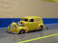 Some new slot drag cars from the MrC and Rebel Rousers Clubs - SlotForum