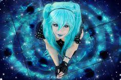 Personnage et icone : Miku Hatsune Galaxie