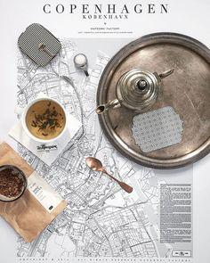 Midweek moodboard  ... Dziś herbata Deep Asana - Paper and Tea. Zawiera: cynamon, goździki, kardamon, czarny pieprz i coś tam jeszcze... Grzeje jak piec kaflowy ;-) A jutro będzie kawa. Tak myślę ;-) ... #flatlays#flatlay#teatime#vscostyle#vscolove#vscolife#copenhagen#teakettle#simplepleasures#flatlaystyle#mapzorki#onthetable#onthetableproject#tablesituation#map#mapa#maps#vscomoment#vscomood#mybeigelife