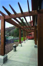 Pergola Above Garage Door Product