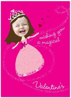 Personalized Valentine's Day Cards - Girl Loves Glam