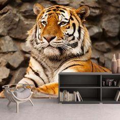 Fotomural Tigre de Bengala, a $69.000 el metro cuadrado.
