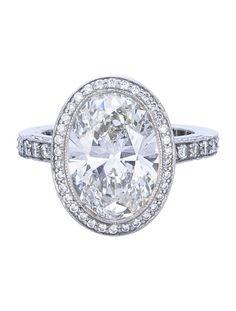 Tiffany & Co. 4.78ctw Diamond Ring - Womens Fine Jewelry - TIF20927   The RealReal