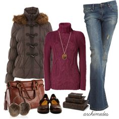 I LIke The Fall, The Mist And All......, created by archimedes16 on Polyvore