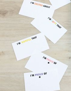 Encouraging words go a long way! These downloadable cards are an easy way to brighten my kids day. Fresh Outtakes
