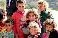 Yazidi Children in Shingal who survived the ISIS Genocide.