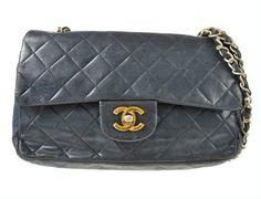 Chanel 23cm Classic Flap  Lambskin Shoulder Bag by gailparker4, $950.00