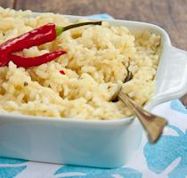 Baked Crab Risotto with Cream cheese & Chilli and the winner of the giveaway