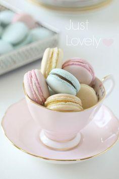 Pastel Macarons  - CountryLiving.com