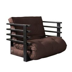 Fresh Futon Funk Chair -  easy three positions: chair, lounger and mattress. Perfect for a sleep-over.