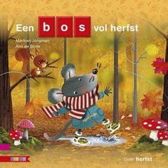 Het is herfst. Ga je mee naar het bos? Samenleesboek voor kleuters om in aanraking te komen met woorden en letters. Met eenvoudige informatie over herfst. AVI-Start. Vanaf ca. 5 jaar.